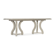 """Reverie Rectangle Dining Table With 2 18"""" Leaves"""