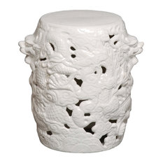 Dragon Stool, White