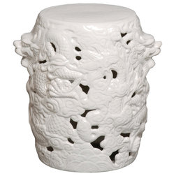 Asian Accent And Garden Stools by EMISSARY