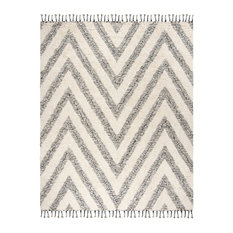 Studio Seven Hand Knotted Area Rug, KNY901H, Black/Ivory,  8' X 10'