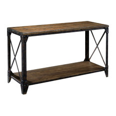 magnussen magnussen pinebrook sofa table natural pine console tables