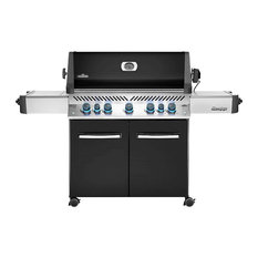 Prestige 665 Natural Gas Grill On Cart with Infrared Rotisse