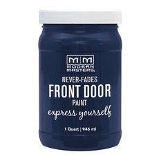 Modern Masters Front Door Paint Satin, Peaceful, 1 Qt.