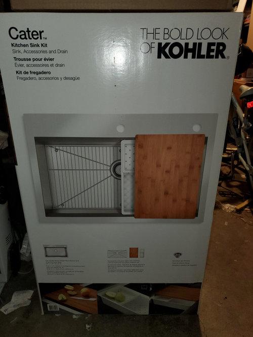 Kohler Cater Kitchen Sink Kit
