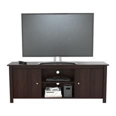 Inval 60 TV Stand, Espresso Wengue