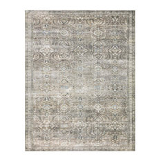 """Layla Lay-13 Antique/Moss Printed Area Rug by Loloi II, 7'6""""x9'6"""""""