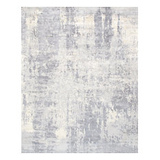 """Pasargad Home Mirage Collection Hand-Loomed Silk Area Rug, 9' 0"""" X 12' 0"""""""