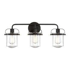 Funnelye Inc. - 3 Lights wall sconce, bathroom living room wall light, bar