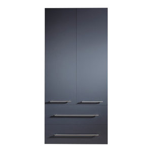 Emotion Full-Length Cabinet, Extra Large, Anthracite Semi-Gloss