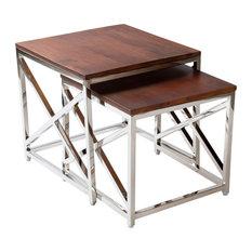 Neville Transitional Nesting Table Set