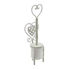 Heart Design Toilet Brush