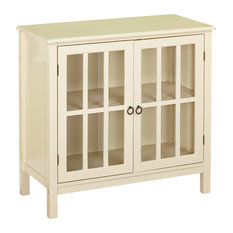 Genial TMS   Portland Cabinet, Antique White   Accent Chests And Cabinets