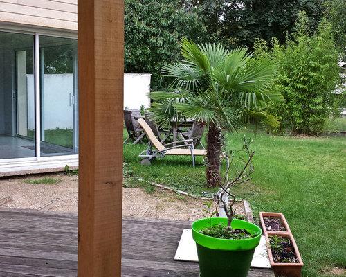 jardin style moderne et pur