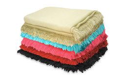 Pur Cashmere TissuTissu Throw Blanket