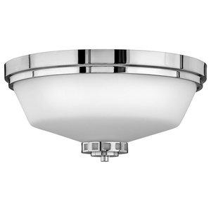 Ashley Bathroom Flush Ceiling Light