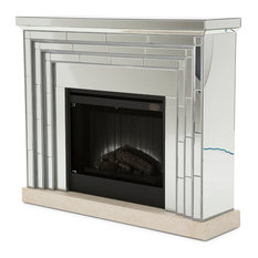 AICO Montreal Fireplace With Firebox Insert