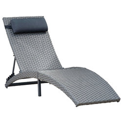 Tropical Outdoor Chaise Lounges by International Home Miami Corp