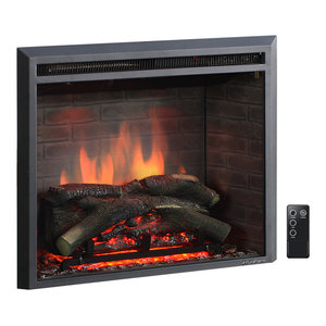 Elkmont Electric Fireplace Transitional Indoor Fireplaces By