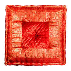 "Sumatra 24""x24"", Red"
