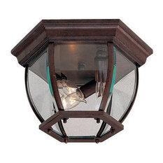 Wyndmere 3 Light Outdoor Ceiling Light in Antique Bronze