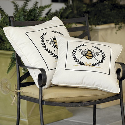 Superb Traditional Outdoor Cushions And Pillows by Ballard Designs