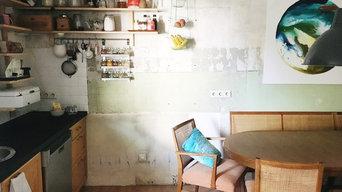 Creative Minimalistische Wohnung / Atelier