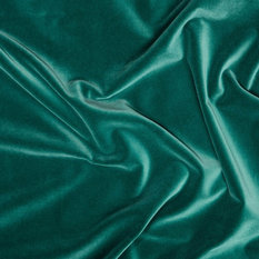 Tribeca Velvet Upholstery Fabric, British Racing Green