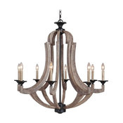 Winton Chandelier by Craftmade   35128-WP