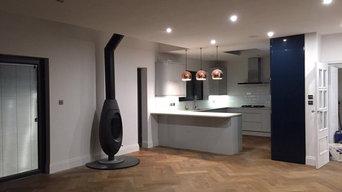 Wide Fumed Oak Herringbone - Residential Client
