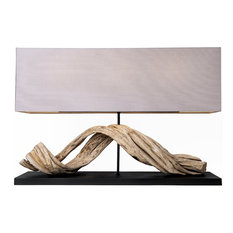 Seadrift Natural Driftwood LED Table Lamp