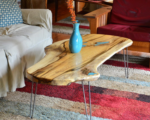 natural edge table natural edge slab hackberry coffee table with turquoise lnlay