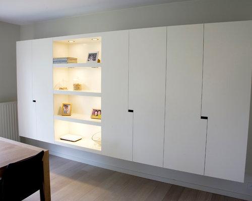 Witte Kast Woonkamer: Licht en ruim scandinavisch appartement met ...