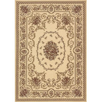 """Traditional Legacy Runner 2'2""""x7'7"""" Ivory Area Rug"""