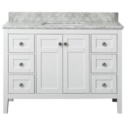 Stunning Transitional Bathroom Vanities And Sink Consoles by Ancerre Designs