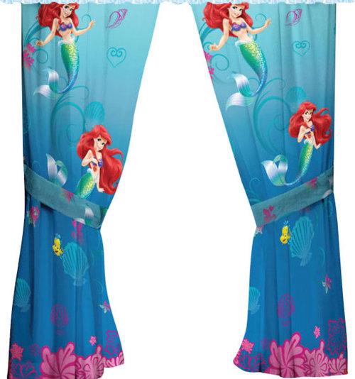 Little Mermaid Drapes Curtains