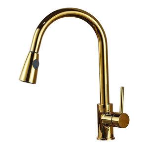 Delta Trinsic Single Handle Pull Down Bar Prep Faucet