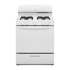 Amana AGR4230BA 30 Inch Wide 5.1 Cu. Ft. Free Standing Gas Range with SpillSave