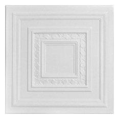 """Chestnut Grove, Styrofoam Ceiling Tile, 20""""x20"""", #R31"""