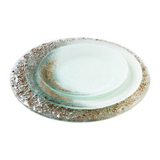 glass made glass dinner plate set dinnerware sets