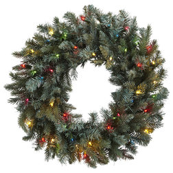 Traditional Wreaths And Garlands by Nearly Natural, Inc.