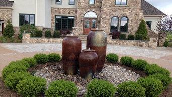 Pottery Outdoor Garden Fountains