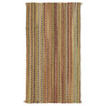 """Capel Rugs - Nags Head Vertical Stripe Flat Woven Rectangle Rug, Multi, 2'x3' - Known for their amazing colors and patterns, Capel's flat woven collections fit easily into any space -- or under any door -- with zero pile height. Generally reversible, flat woven rugs are a practical and affordable option for any room. Features: Construction: Flat Woven Country of Origin: USASpecifications: Pile Height: 1/4"""""""