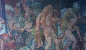 Fresques pour le Chateau de FONTAINEBLEAU