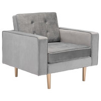 Puget Arm Chair, Gray