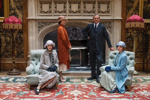 Explore the Dapper Digs and Resplendent Rags of Downtown Abbey