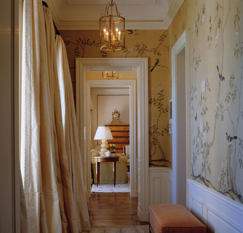 Does Anyone Know A Company Who Makes Less Expensive Chinoiserie Wallpapers Thank You Both Pictures Are De Gournay