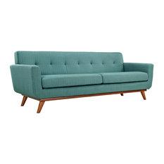 Engage Upholstered Fabric Sofa, Laguna