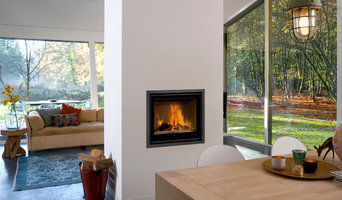 Barbas - Inset woodburning feature fireplaces
