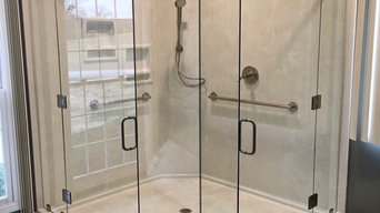 Frameless Shower Glass - Curbless