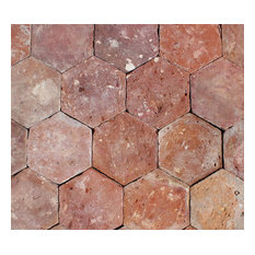 "6""x6"" Reclaimed French Terracotta Hexagonal, Set of 450"